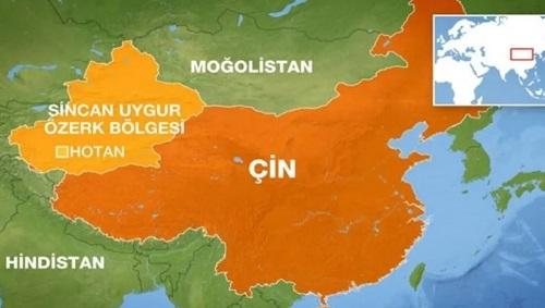 Uygur Özerk Bölgesinin Coğrafi Yapısı ve doğal zenginlikleri