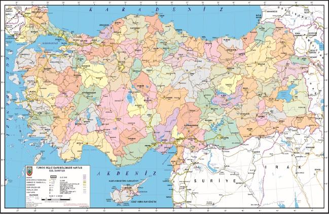 Türkiye'nin Coğrafi Yapısı